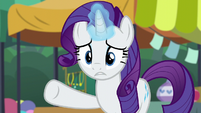 "Rarity ""something's bothering you"" S6E3"