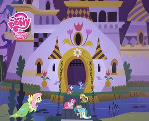 Canterlot Castle background 7