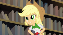 "Applejack ""Shadowbolts are our biggest rivals"" EG3"