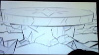 S5 animatic 33 Some sort of table rises from the formation