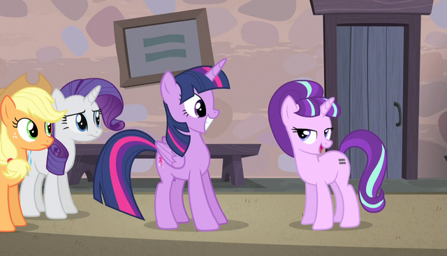 "File:Starlight ""we don't get many Alicorns around here"" S5E1.png"
