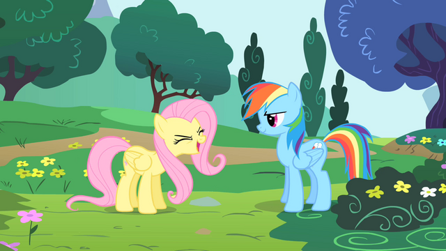File:Fluttershy saying yay S1E16.png