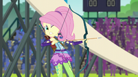 Fluttershy squeamish about her bow EG3