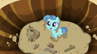 Petunia Paleo pleased with her discovery S6E19