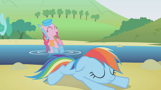 File:Pinkie Pie happy for Dash's help S1E5.png