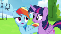 "Rainbow Dash ""he wasn't even trying!"" S6E24"