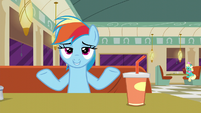 "Rainbow Dash ""if it's clothes or not"" S6E9"