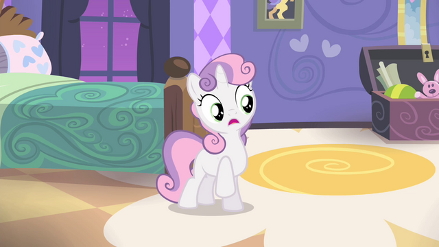 File:Sweetie imitating Rarity S4E19.png