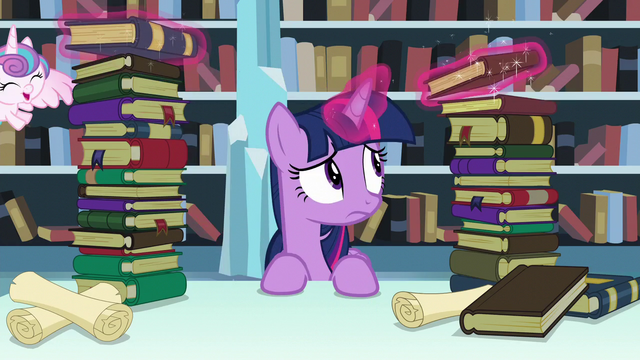 File:Twilight levitates one of the books S6E2.png