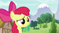 Apple Bloom hears something S6E4