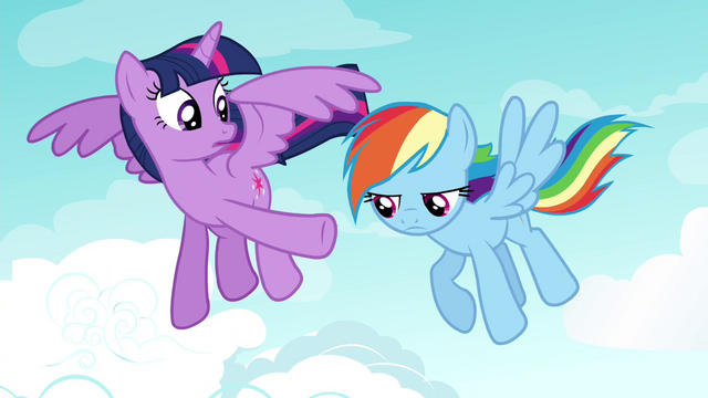 """File:Twilight """"read more Daring Do books than you"""" S4E21.png"""