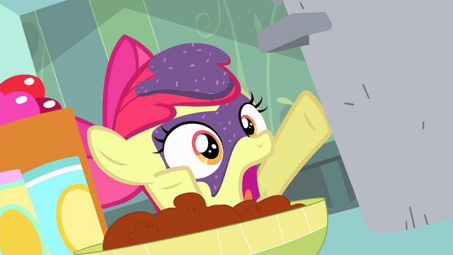 File:Apple Bloom covered in grape jam S4E17.png