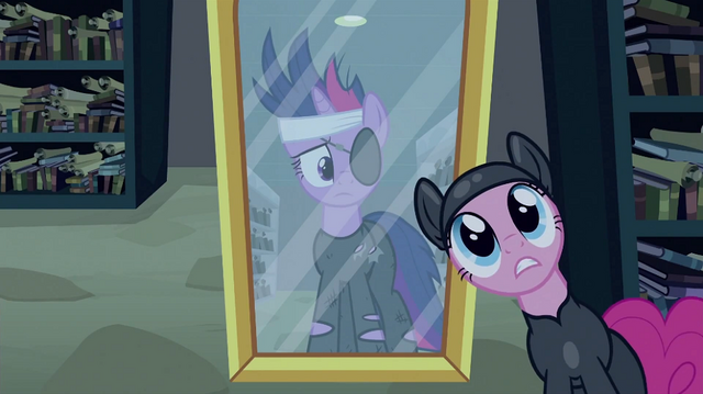 File:Pinkie Pie and mirror S2E20.png