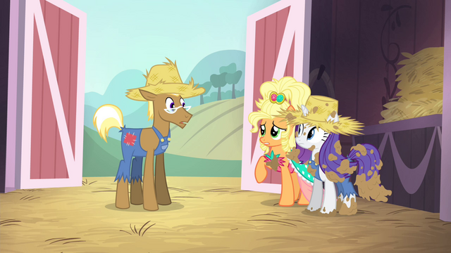 "File:Applejack ""you're a fine pony, but..."" S4E13.png"