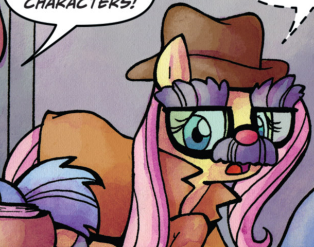 File:Comic issue 22 Fluttershy Manehattan disguise.png