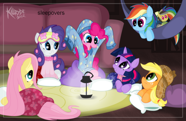 File:FANMADE Pinkie's bedtime tales by killryde.png