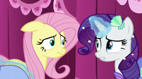 Fluttershy uncertain of the period costume S5E21