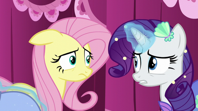 File:Fluttershy uncertain of the period costume S5E21.png