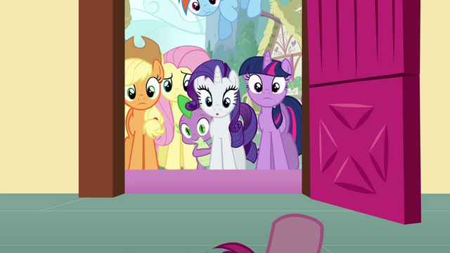 File:Pinkie Pie's view S3E3.png
