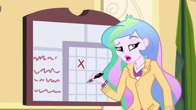"File:Principal Celestia ""was there a princess?"" EG.png"