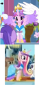FANMADE Cadance comparison