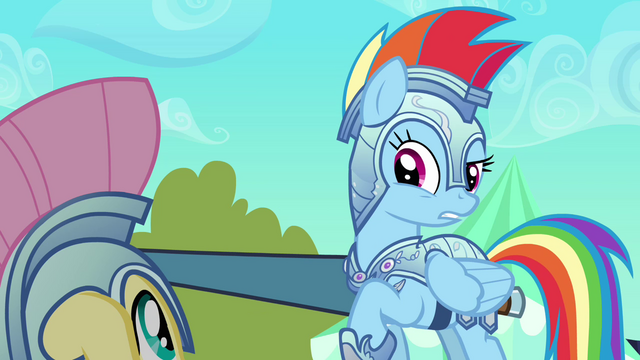 File:Rainbow Dash explains why they have to keep jousting S3E02.png