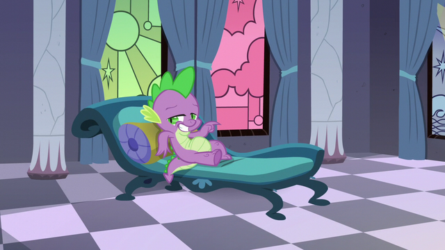 File:Spike posing for his portrait S5E10.png