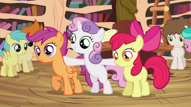 "File:Sweetie Belle ""we the Cutie Mark Crusaders"" S4E15.png"