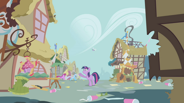 File:Ponyville in shambles S1E10.png