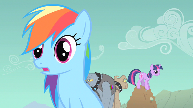File:Rainbow Dash & Twilight sense S1E19.png