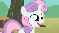 Sweetie Belle smiling S1E18