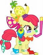 File:FANMADE Apple Bloom dressed funny.jpg