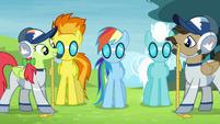 Ponies measuring S4E10