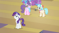 Rarity 'How could this happen' S4E08