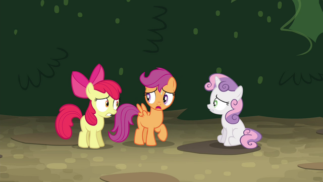 "File:Scootaloo ""we gotta beat them to Twilight's"" S4E15.png"