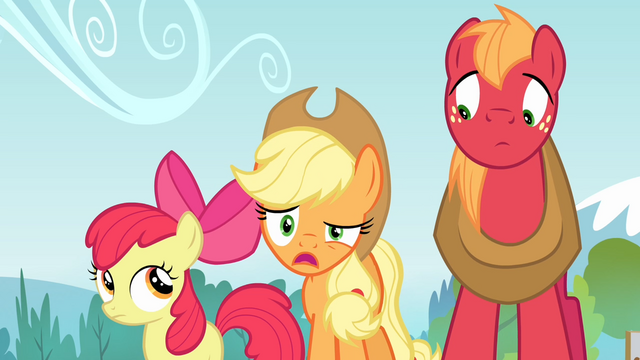 File:Applejack 'We haven't got a raft' S4E09.png