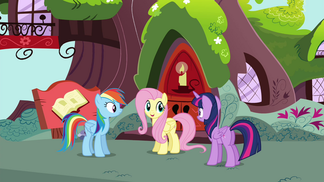 "File:Fluttershy ""I may have a way to help Rainbow"" S4E21.png"