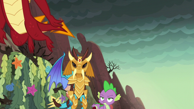 File:Garble flying away S6E5.png