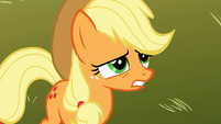 Applejack speechless is right S1E18