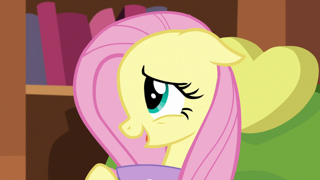 "File:Fluttershy ""already asked Tree Hugger"" S5E7.png"