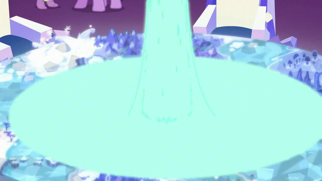 File:Magic glow from the Cutie Map being taken away by the scroll S5E26.png