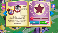 Octavia album page MLP mobile game