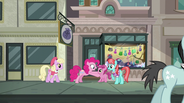 File:Pinkie Pie accosting Ruby Pinch S6E3.png