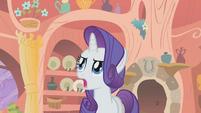 Rarity objecting S1E8