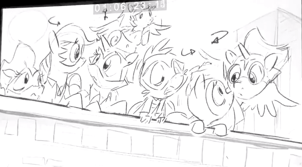 File:Power Ponies Season 4 Sketch.png