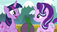 "Twilight ""since we're going to the Crystal Empire"" S6E1"