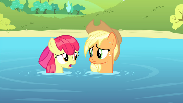 "File:Apple Bloom ""I sure would hate"" S4E20.png"