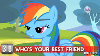 "Hot Minute with Rainbow Dash ""next question"""