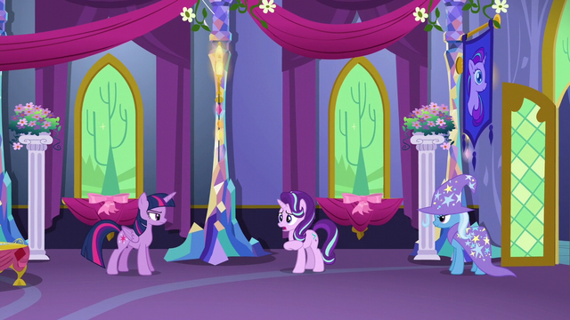 "File:Starlight Glimmer ""you know each other?"" S6E6.png"