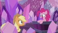 "Pinkie Pie ""gets to raise the flag!"" S5E20"
